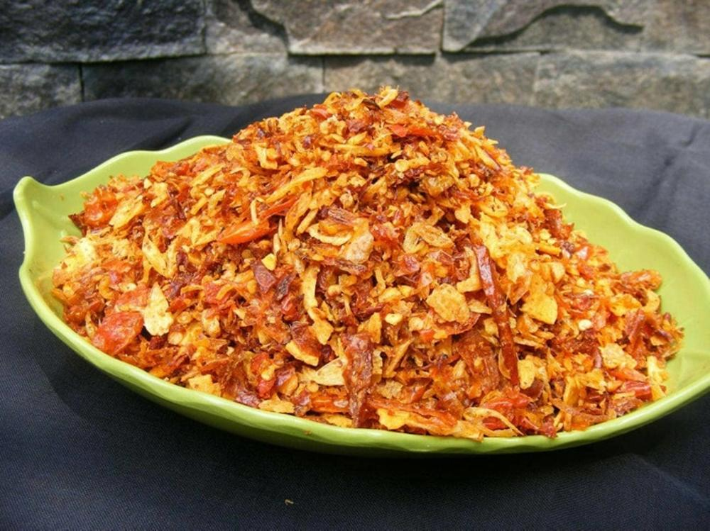 cara membuat bawang goreng pedas